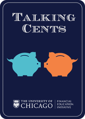 Talking Cents Card front