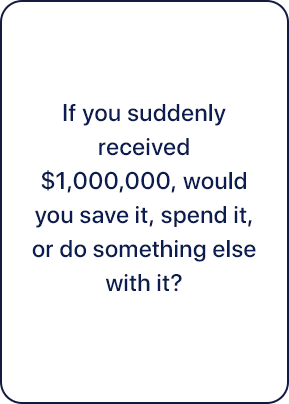 Talking Cents Card Question 3